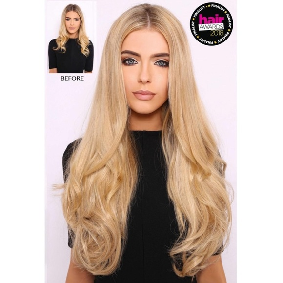 Lullabellz Accessories Nwt Light Golden Blonde Hair Extensions